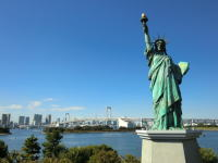 statue of liverty, Odaiba