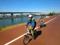 Edogawa cycling road